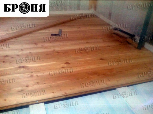 Heat and waterproofing of a wooden house with Bronya materials in Khabarovsk (photo and video)