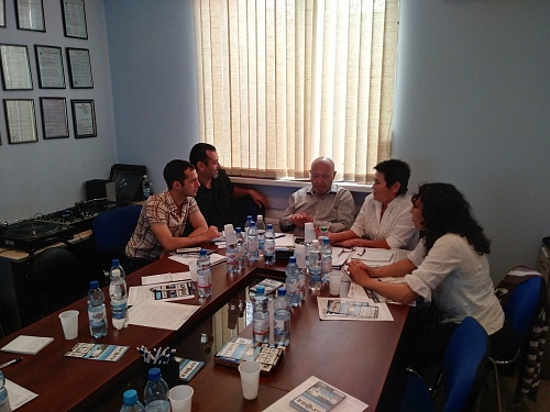 A regular training seminar for the representatives of Volgograd Innovation Resource Center Company Group Bronya took place 11 and 12 September 2018 (photo + video)