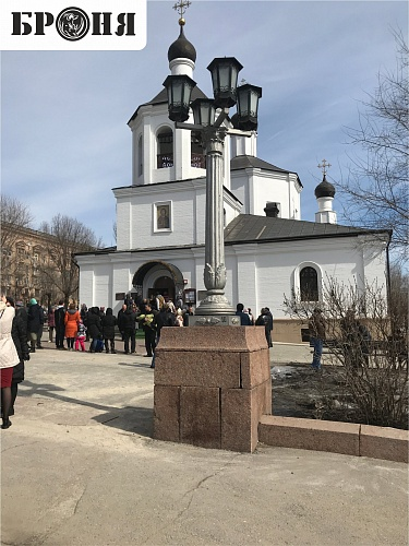 With Joy we present to you a very important and responsible object with Bronya Facade - The Temple of John the Baptist internal heat insulation (Volgograd)
